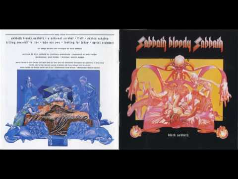 Black Sabbath - Sabbra Cadabra(Lyrics)