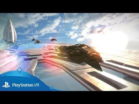 Trailer pour la mise à jour VR  de WipEout Omega Collection