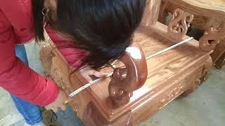 Bàn ghế gỗ lát loại khủng ai quan tâm inbox 01646877767