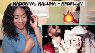 Madonna, Maluma   Medellín | REACTION