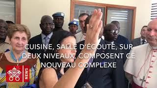 Inauguration de l'hôpital pédiatrique de Bangui