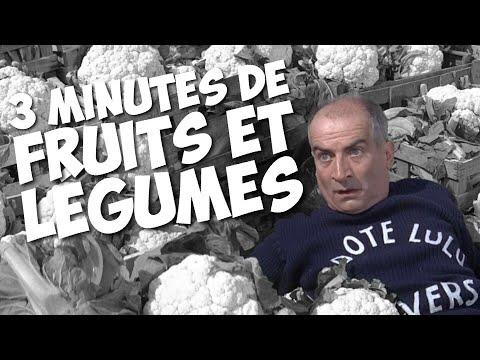 3 minutes de fruits et légumes avec Louis de Funès !