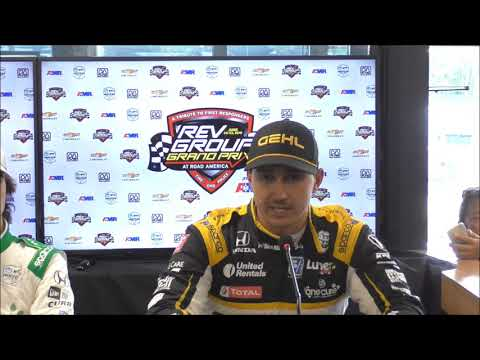 2019 IndyCar Road America Post Qualifying Q&A