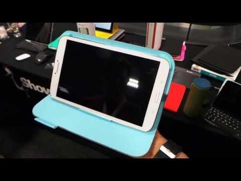 Logitech Folio Protective Case Galaxy tab 3 8.0 tablet tok bemutató videó   Tech2.hu