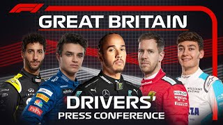 2020 British Grand Prix: Press Conference Highlights
