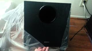 Unboxing Onkyo HT-S3500 5.1 Home Theater System