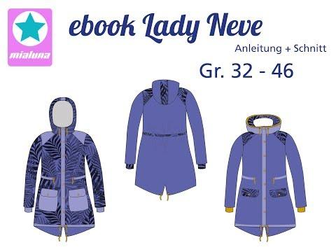 Nähanleitung Herbst / Winter Parka Lady Neve