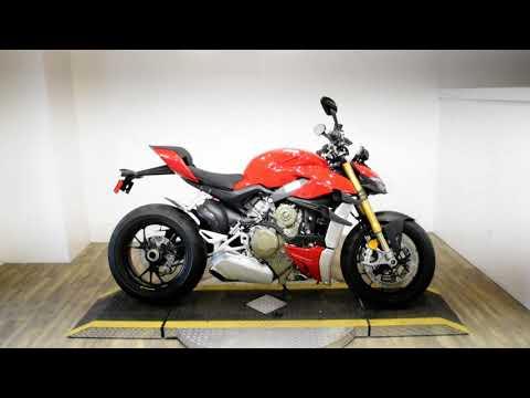 2021 Ducati Streetfighter V4 S in Wauconda, Illinois - Video 1