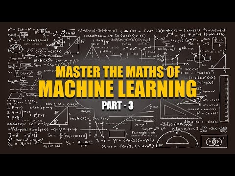 Machine Learning Maths | Application Project | Part 3 | Eduonix