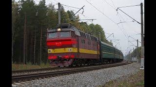 Электровоз ЧС4Т-518 с поездом № 47 Кишинёв - Москва