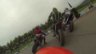 preview picture of video 'Championnat Suisse Supermoto Bière 2013'