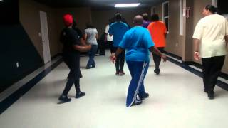 What Makes the World Go Round line dance performed at Dee and Reggie's Class