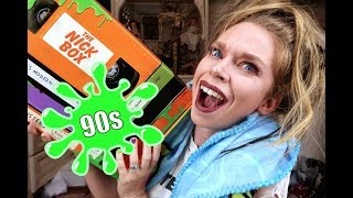 90s NICKELODEON MYSTERY BOX #3!