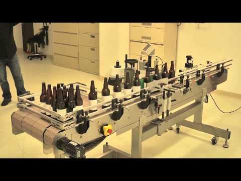 Quadrel Labeling Systems | Beer Bottle Labeling System | Craft Brewery Labeling Quadrel Econoline