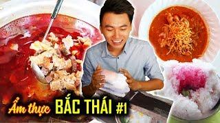 NHỮNG MÓN ĂN LẠ MÀ NGON. Du lịch Chiang Mai #1  Ẩm thực Thái Lan