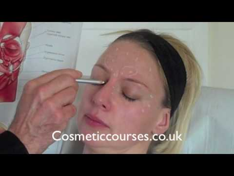 Botox training 2: Where to place Botox injections - YouTube