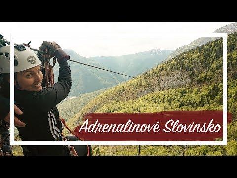 Slovinsko plné adrenalinu aneb když se bojíš výšek