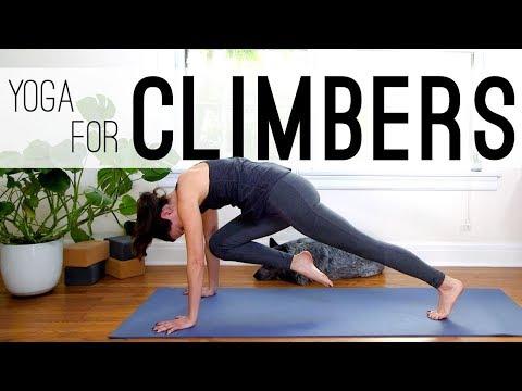 Yoga For Climbers | Flexibility & Balance | Yoga With Adriene