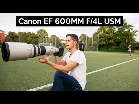 Canon EF 600mm F/4 IS USM | THE $12000 SUPER TELEPHOTO LENS on the Canon EOS 1Dx Mark II