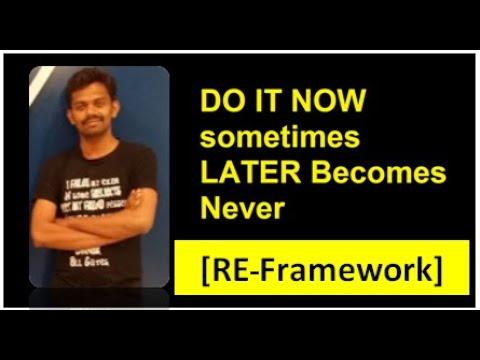Download Uipath Reframework Tutorial Robotic Enterprise Framework