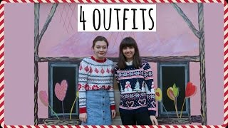 How I Style: FOUTE KERSTTRUI! met LauraWithaCamera | Boncolor Christmas #21