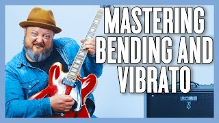 How To BEND the RIGHT WAY on Guitar