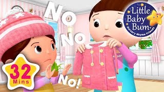 No No No! New Clothes   Plus Lots More Nursery Rhymes   32 Minutes Compilation from LittleBabyBum!