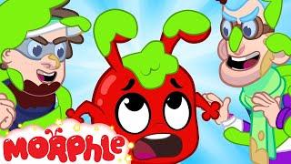 SLIME! Morphle Gets Slimed - My Magic Pet Morphle | Cartoons For Kids | Morphle TV | BRAND NEW