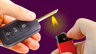 20 CRAZY TRICKS WITH LIGHTER THAT