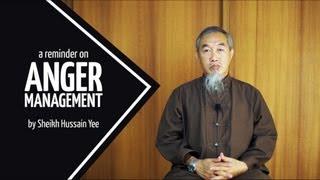 A Reminder on: Anger Management