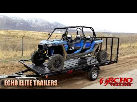 2021 Echo Trailers Elite EEW-24-14T in Ukiah, California - Video 1