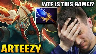 Arteezy Huskar: WTF is This Game? Dota 2