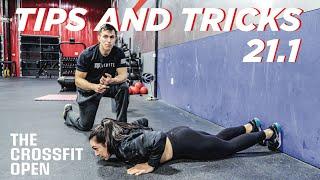 IMPROVE YOUR OPEN SCORE: CrossFit Open 21.1 // Tips & Tricks