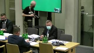 Prezes NIK Marian Banaś na posiedzeniu Komisji do Spraw Kontroli Państwowej