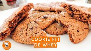 #65 - Como Fazer Cookie Fit de Whey
