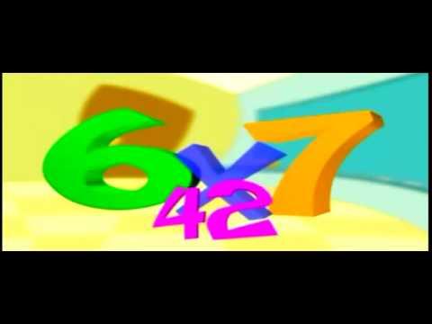 Cancion Tablas de Multiplicar 2, 3 ,4, 5, 6 ,7 ,8 y 9