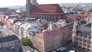 preview picture of video 'Munchen Munich City view 14 July 2013'