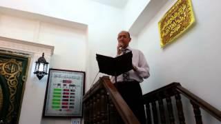 preview picture of video 'خطبة الجمعة المولد النبوى 23 المستشار محمد حمدون 12 6 2014 مسجد الحامدون الاسكندرية مصر'