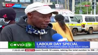 LABOUR DAY: Kenyans out to work as usual