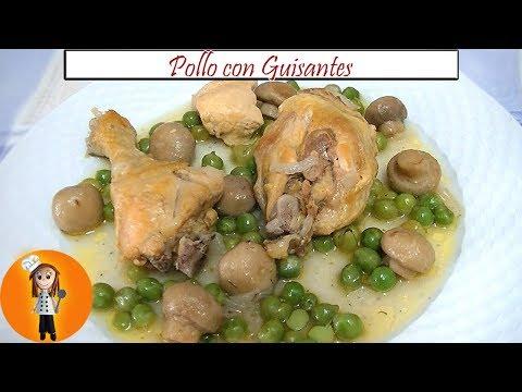 🍗 Pollo con Guisantes | Receta de Cocina en Familia