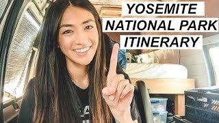 Yosemite National Park Vacation Travel Guide 1-5 Days | Alexandria Tejas