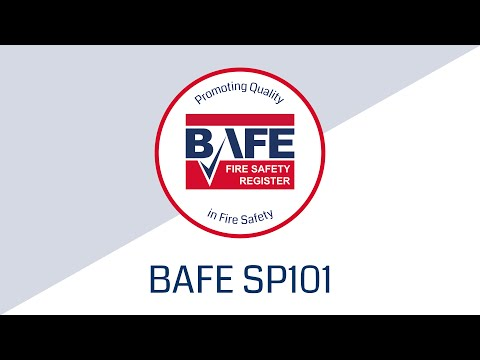 BAFE Fire Extinguisher Service Provider Scheme (SP101) Video