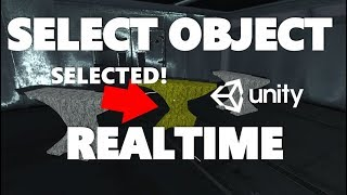 Mini Unity Tutorial - How To Select And Highlight Objects In Game Realtime With C#