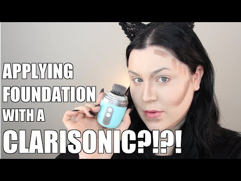 NEW!!! Clarisonic SONIC Foundation Brush - FIRST IMPRESSION REVIEW