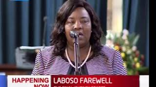 LABOSO FAREWELL: Ida Odinga's emotional appeal to government and leaders