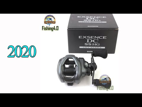 Máy câu ngang Shimano EXSENCE DC SS HG - New 2020 - Công nghệ I-DC TUNE