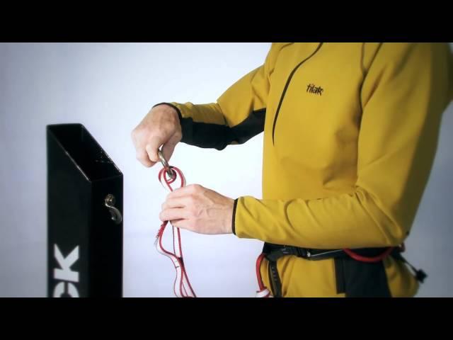 Видео Самостраховка Singing Rock Safety Chain 140 см х 16 мм