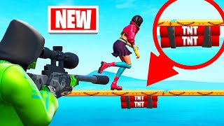 Playing SNIPERS vs. RUNNERS In FORTNITE! (*NEW* Game Mode)