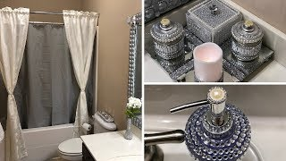 DIY Dollar Tree Glam Bathroom