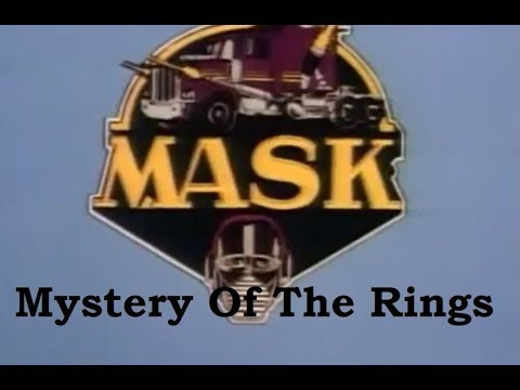 MASK - Season 1 - Episode 17 - Mystery Of The Rings